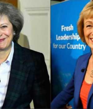 May and Leadsom in contest for British Prime Ministership