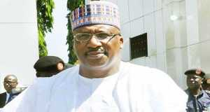 Minister of Interior, General Abdulrahman Dambazzau