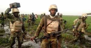 Nigerian Army storms the creek
