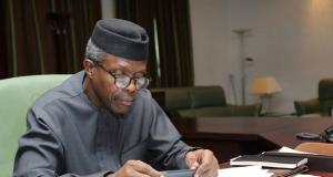 Nigeria's Vice President Prof. Yemi Osinbajo