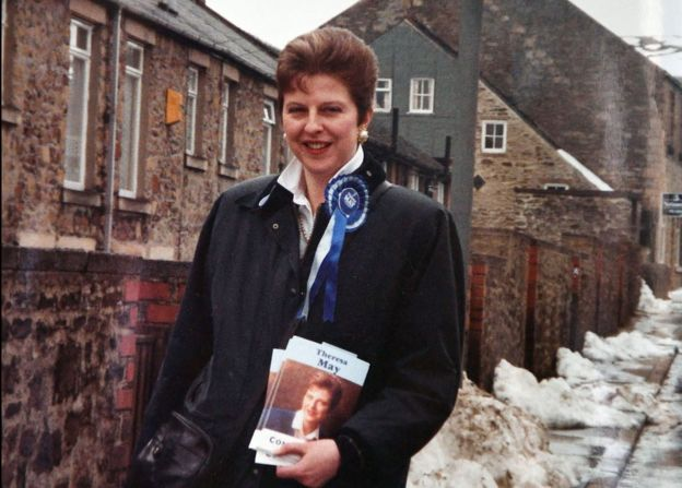 Theresa first stood for Parliament in 1992