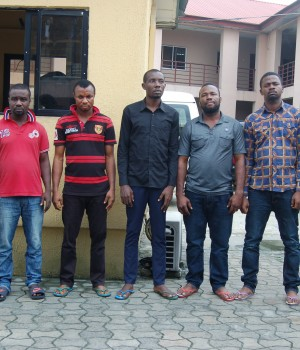 Internet scammers arrested by EFCC operatives