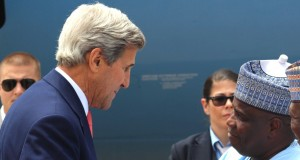 U.S. Secretary of State, John Kerry and Governor Aminu Tambuwal of Sokoto