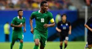 Mikel leading Nigeria against Sweden