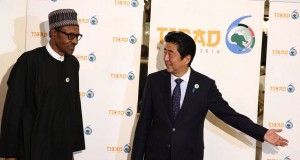 President Buhari and Japan PM, Shinzo Abe