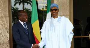 President of Benin Republic, Patrice Talon and Buhari