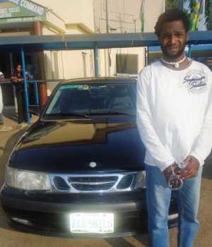 car thief, Richard Akinwale,