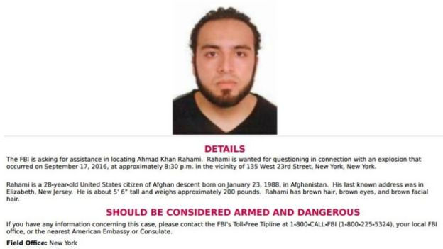 Suspect in New York, New Jersey bombings captured after police shootout
