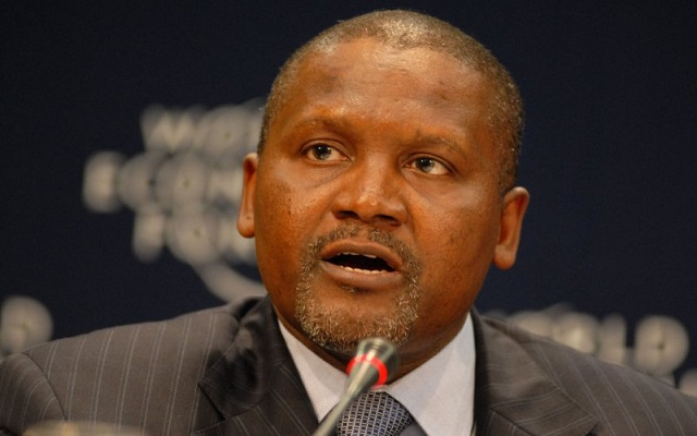 Dangote Dispels Rumors Of His Death