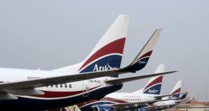 Fleet of Arik Air planes
