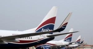 Fleet of Arik Air planes