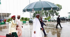 President Buhari traveling out of the country
