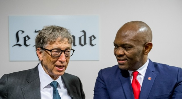 Bill Gates and Tony Elumelu