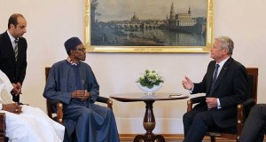 President Buhari-and-German-president Joachim Gauck,