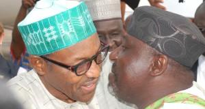 President Buhari and Rochas Okorocha
