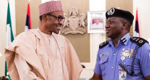President Buhari and IGP Ibrahim Idris