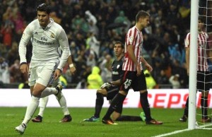 Alvaro Morata's goal was only his second in nine La Liga games since his summer return from Juventus