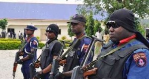 Nigeria Security and Civil Defence Corps officials