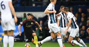 Sergio Aguero had not scored for City in six matches - his last goals coming at Swansea on 24 September