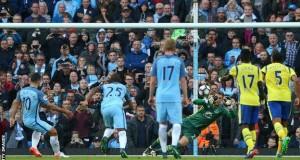 Sergio Aguero misses one of the penalties