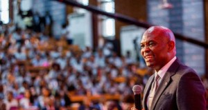Tony Elumelu CON, Founder Tony Elumelu Foundation, addresses 1000 African entrepreneurs at the 2nd edition of the annual Tony Elumelu Foundation Entrepreneurship Forum, which recently held in Lagos.