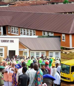 Commissioning of AUD Elementary School, Osogbo