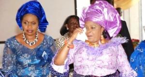 Bola Shagaya and Patience Jonathan