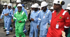 Tour of Port Harcourt refinery