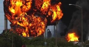 Explosion at Escravos pipeline