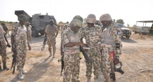 Troops of the Nigerian Army