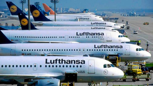 More than 800 lufthansa flights grounded as pilots resume for Lufthansa direct flights to germany