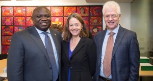 Ambode, with MIT Africa officials in Boston,
