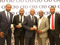 UBA CFO award winning team