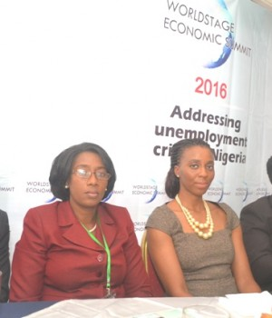 Discussants at the WorldState Economic Summit in Lagos