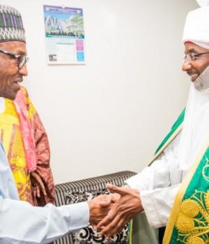Buhari and Emir Sanusi
