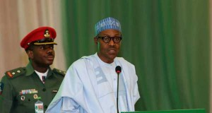 Buhari addresses the Ambassador-designates