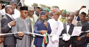 V.P Osinbajo commissioning the DSO office