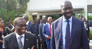 NNPC GMD and Edo Gov. Godwin Obaseki