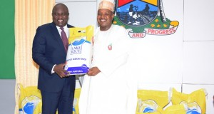 Ambode, Bagudu unveils LAKE RICE