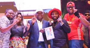 Gov. Ambode with artistes