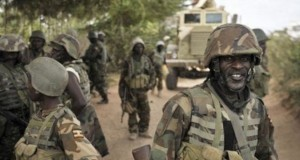 Gallant troops in Sambisa Forest