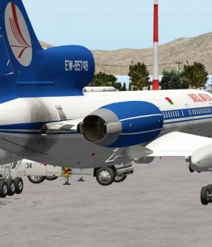 Tu-154 aircraft