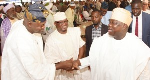 Ambode and LSHA principal officers