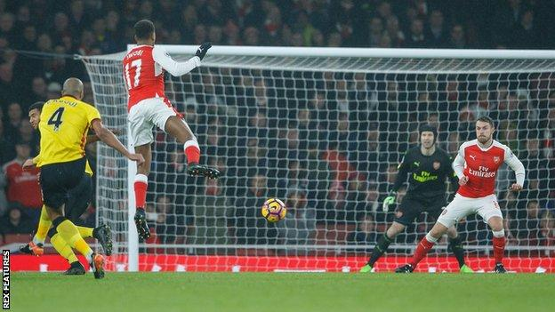 EPL 2016/17: Arsenal 1-2 Watford, 5 Talking Points