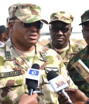 Chief of the Air Staff, Air Marshal Sadique Baba Abubakar