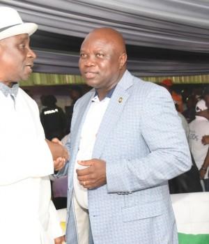 Oba Rilwan Akiolu of Lagos, Ambode and Olusegun Osoba