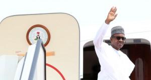 President Buhari departs for UK