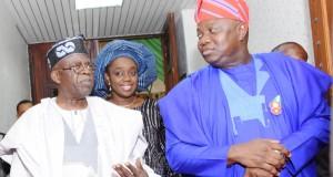 Tinubu, Adeosun and Ambode