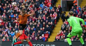 Wolves stun Liverpool at Anfield