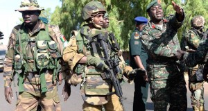 African troops in The Gambia